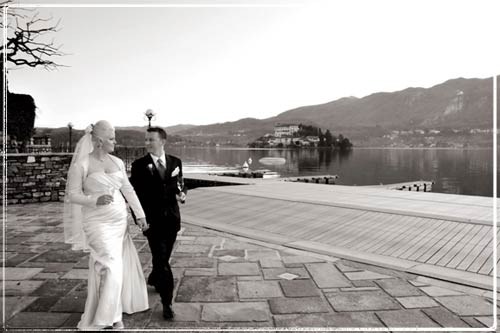 Matrimonio Simbolico San Andres : Matrimonio simbolico sul lago d orta