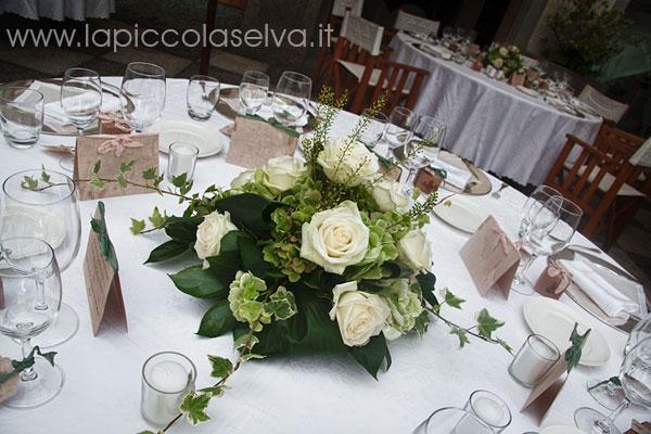 lapiccolaselva-centrotavola matrimonio Hotel San Rocco