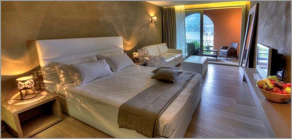 Hotel matrimonio Orta camere vista lago