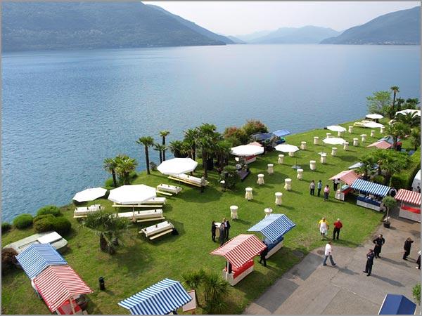 location matrimonio sul lago Maggiore Brissago