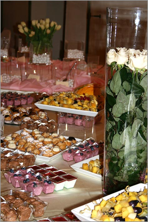 Qciniamo catering matrimonio Villa Ortea Lago d'Orta