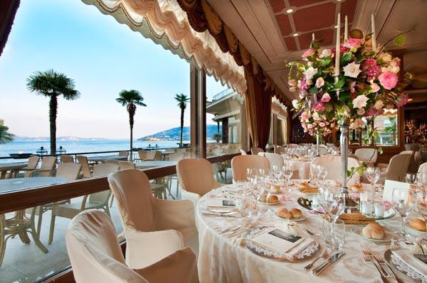 Sala ricevimenti panoramica Hotel Dino