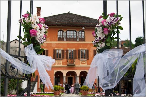 fioraio matrimonio Comune di Orta San Giulio