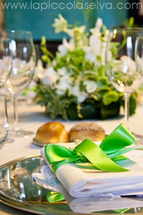 allestimento tavoli matrimonio Villa Pestalozza