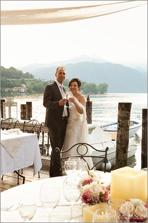 matrimonio Orta Beach Club lago d'Orta