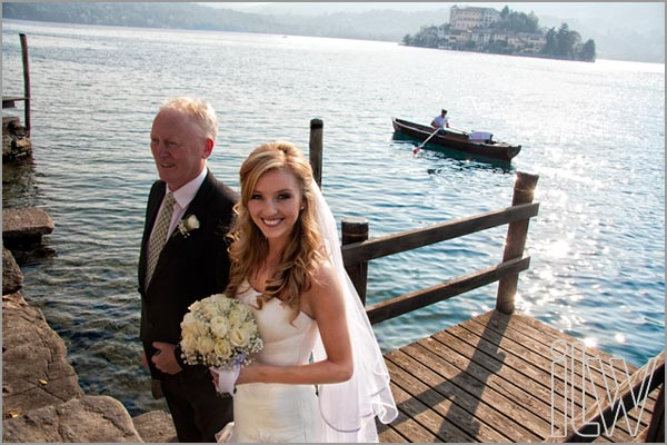 sposarsi a Settembre sul lago d'Orta
