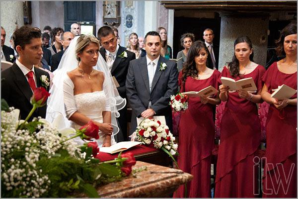 cerimonia matrimonio chiesa Assunta di Orta