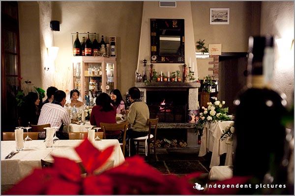 cena matrimonio ristorante Ca dal Rat Orta