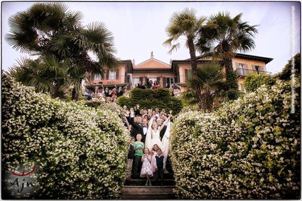 villa con camere matrimonio Ghiffa Lago Maggiore