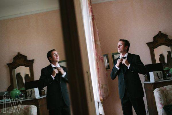 preparazione sposo a Villa Pestalozza