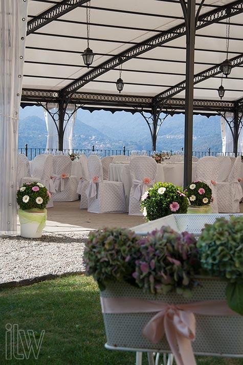 Decorazioni floreali a Villa Pestalozza di La Piccola Selva floral designer