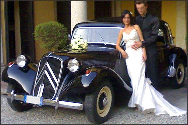 Citroën-Traction-Avant-noleggio-autodepoca-matrimonio-Orta-Verbania