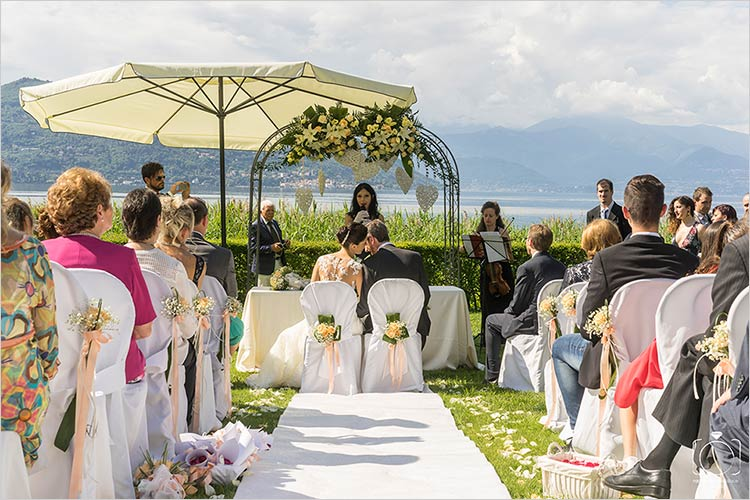 Celebrante matrimonio Villa Rocchetta, lago Maggiore