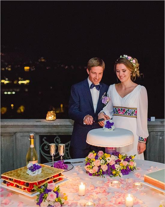 torta nuziale matrimonio-villa-muggia-stresa