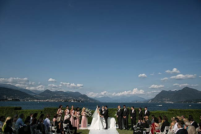 Cerimonia sul Lago Maggiore © foto David Bastianoni