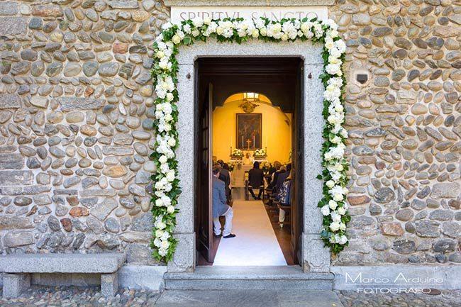 Cerimonia nella cappella privata Abbazia di Santo Spirito © foto Marco Arduino