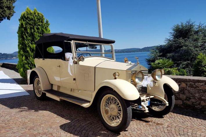 Noleggio auto d'epoca matrimonio chesa vecchia Belgirate lago Maggiore