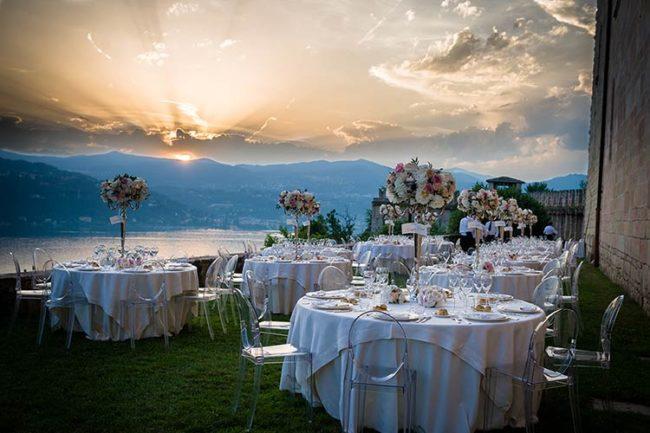 Ricevimento di matrimonio alla Rocca di Angera © foto Riccardo Bestetti