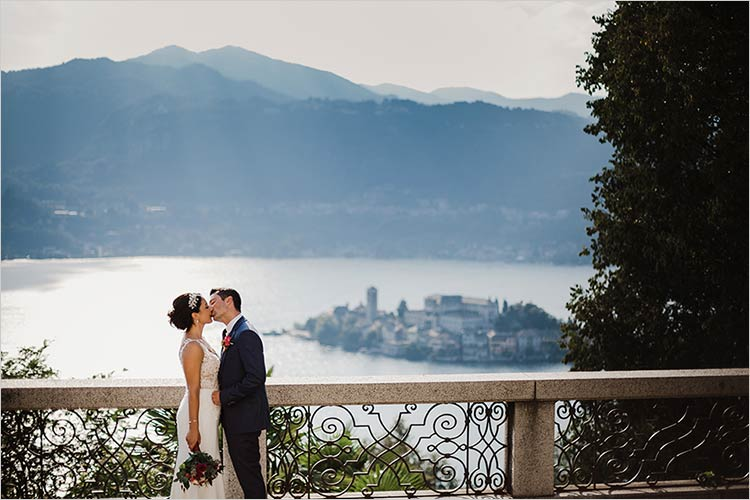 nozze al Sacro Monte di Orta