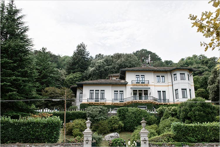 Esclusiva location nozze a Stresa