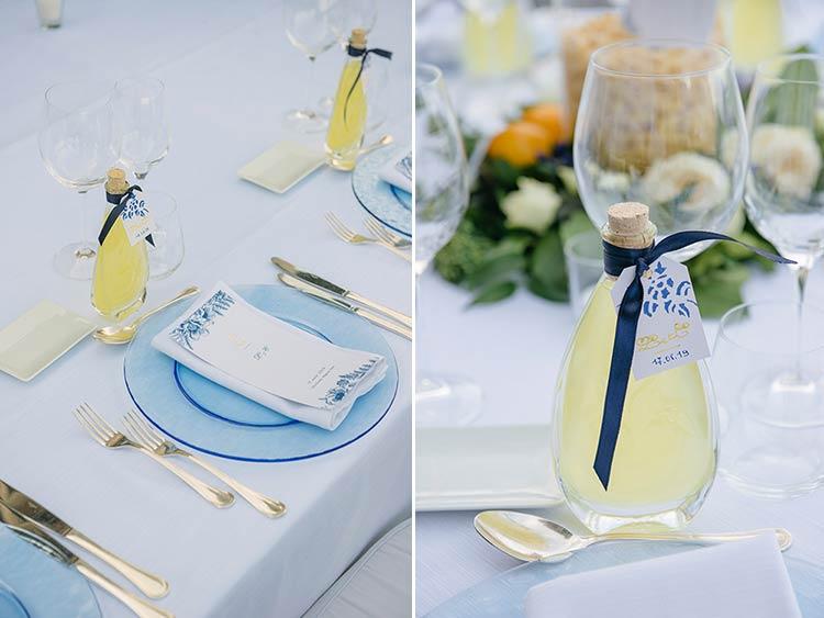 Matrimonio a tema limoni e limoncello