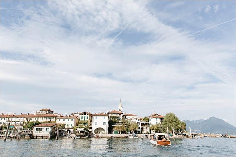 Tour sposi in motoscafo sul Lago Maggiore