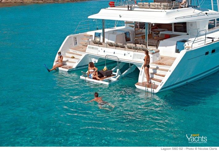 Lagoon 560 S2 Kuvaaja: Nicolas Claris