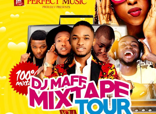 DJ Maff Mixtape Tour Vol 1 Ft. Ayoo, Wizkid Davido, Burna Boy