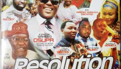 King Dr. Saheed Osupa - Resolution Day