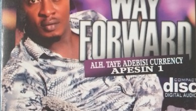 Alh. Taye Currency - Way Forward