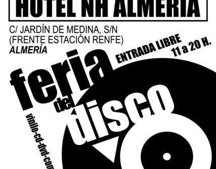 2 de Abril Feria del disco en Lorca