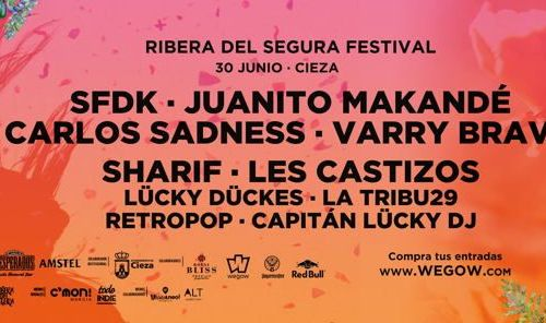 SFDK coronan el cartel del festival Ribera del Segura 2018