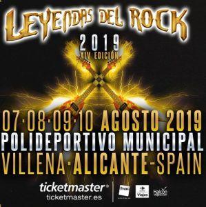 Leyendas del Rock 2019 @ Villena (Alicante)