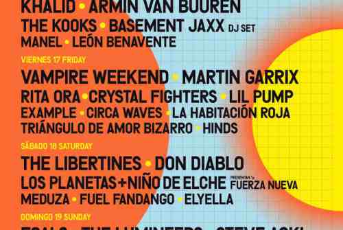 Vampire Weekend, The Kooks y Crystal Fighters entre los primeros confirmados para el FIB 2020