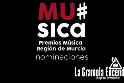 Nominados a los III Premios de la Música de la región de Murcia