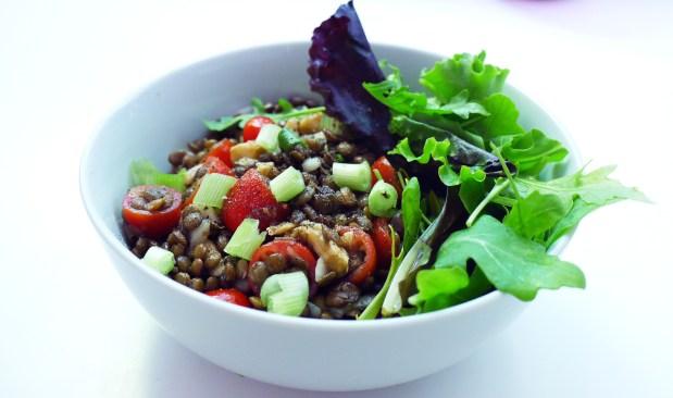 spéciale fauchée LGB La Grande Bavarde salade économique légumineuses sain pas cher simple facile
