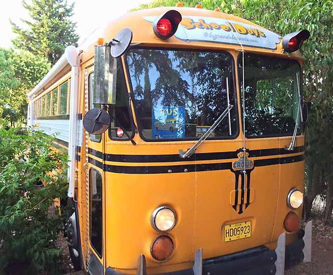 Chambre Bus Hbergement Insolite Originale Jacuzzi