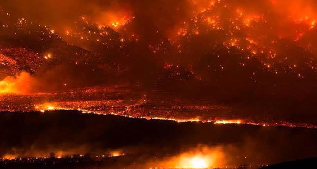 La tornade du feu en Californie : voilà à quoi ressemble le changement climatique
