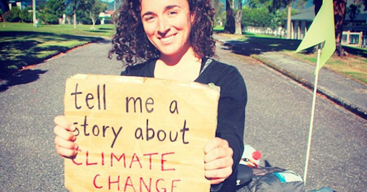Faire valoir des petites histoires sur le changement climatique