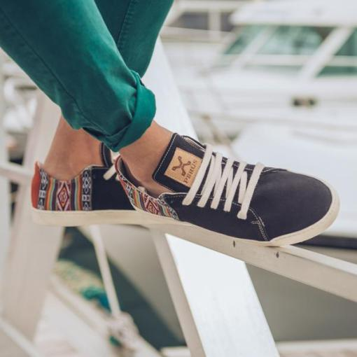 Sneaker daim gamuzon marino 2 - Chaussures PERUS Gamuzon Marino