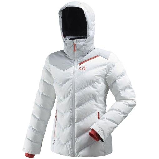 veste de ski femme à faible impact environnemental