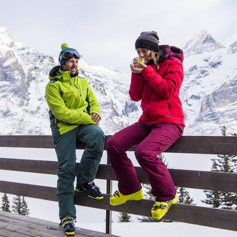 catégorie vêtements de ski écologiques