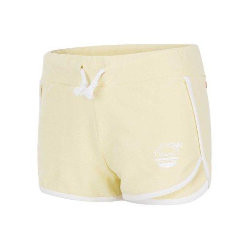 short pour femme jaune pale picture organic clothing