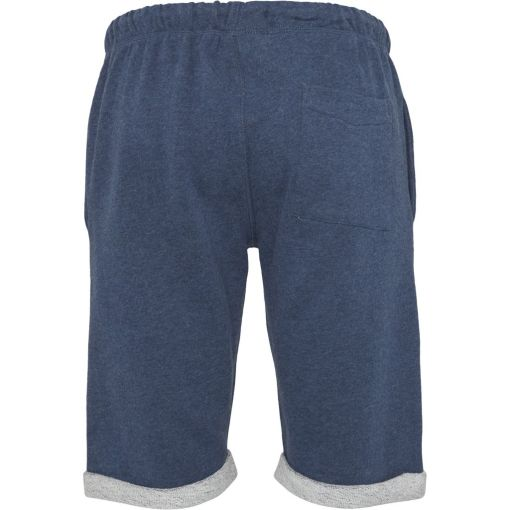 short homme bleu coton bio