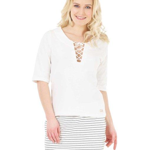 tshirt blanc femme 100% coton biologique