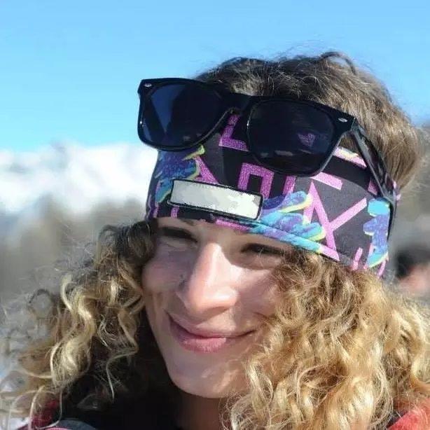 portrait skieuse Johanna Marcoz