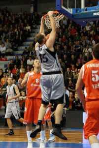 Au dunk avec Bilbao