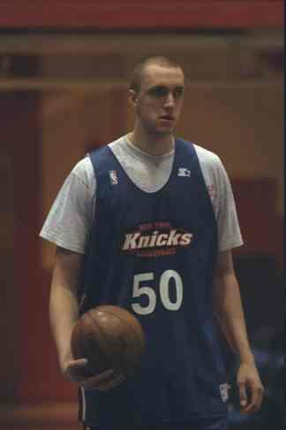 Lors de la summer league avec les Knicks