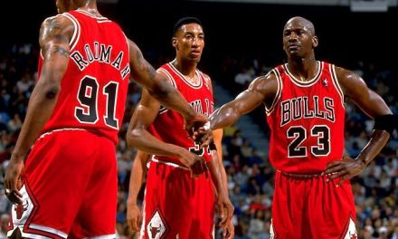 Le triangle d'or des Chicago Bulls