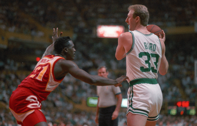 PLAYOFFS HISTORY : le duel Larry Bird-Dominique Wilkins